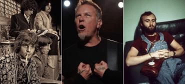Pink Floyd, Metallica e Genesis