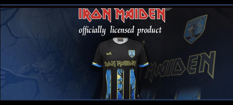 Camiseta Oficial Iron Maiden