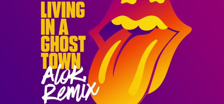 "Rolling Stones: ""Living in a Ghost Town"" ganha remix do brasileiro Alok"