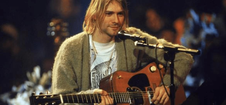 Kurt Cobain no MTV Unplugged