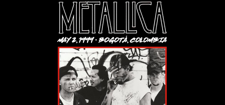 Show do Metallica em Bogotá