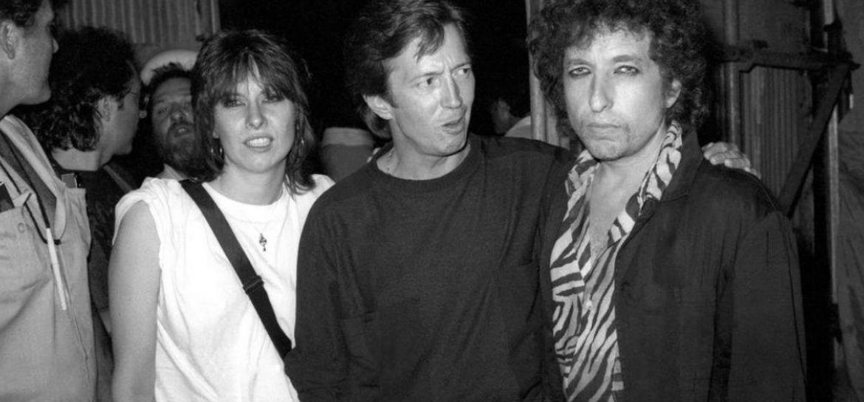 Chrissie Hynde, Eric Clapton e Bob Dylan
