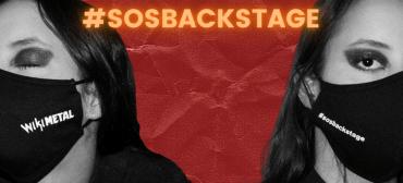 Máscara Wikimetal x #SOSBackstage