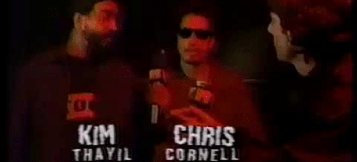 Kim Thayil e Chris Cornell, do Soundgarden