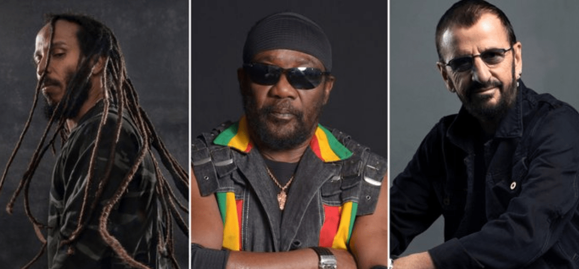 Ziggy Marley, Toots and The Maytals e Ringo Starr