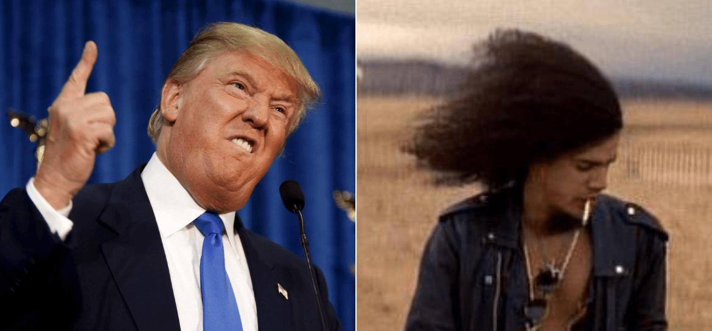 Donald Trump e Slash