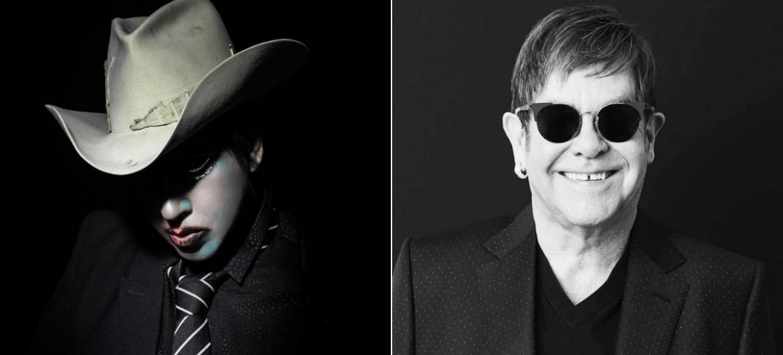Marilyn Manson e Elton John