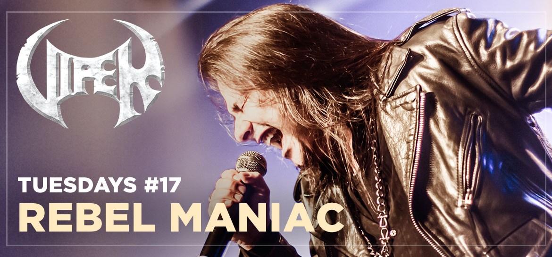 Rebel Maniac - Live In São Paulo - VIPER Tuesdays