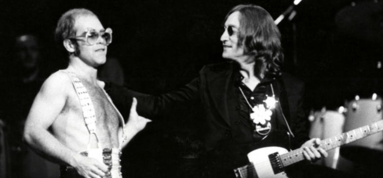 Elton John e John Lennon