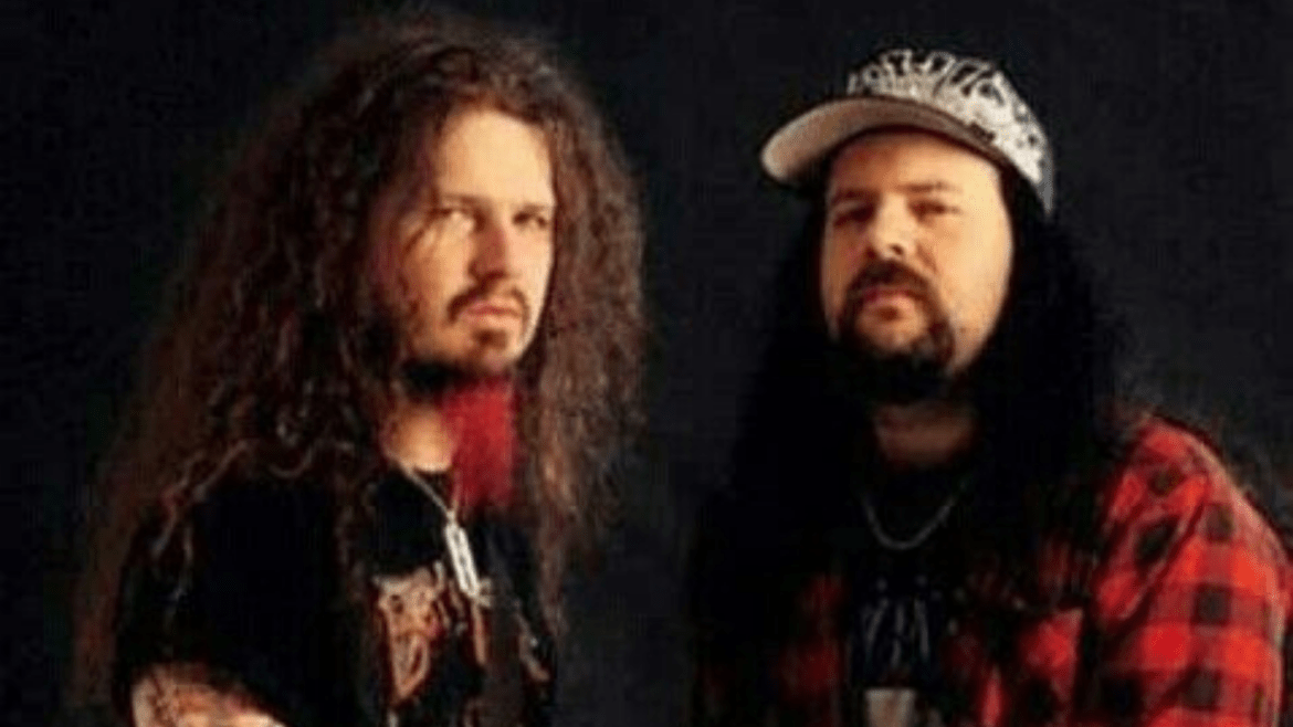 Dimebag Darrell e Vinnie Paul