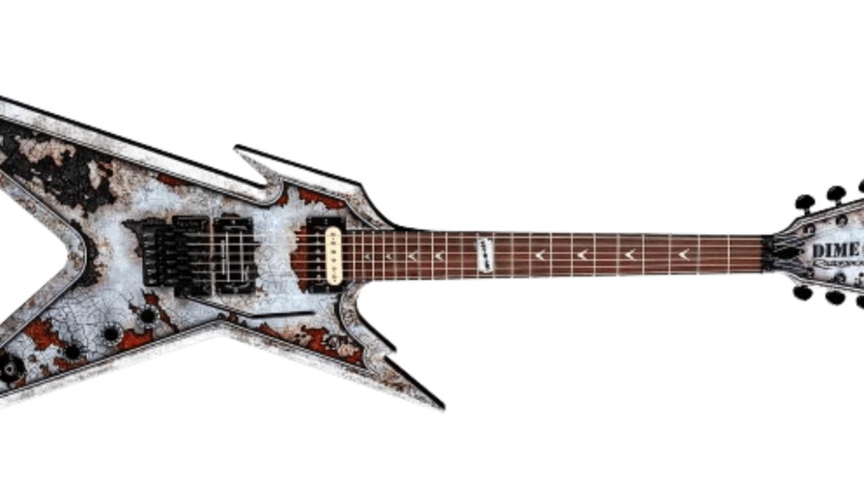 Guitarra 'Dime Razorback Rust'