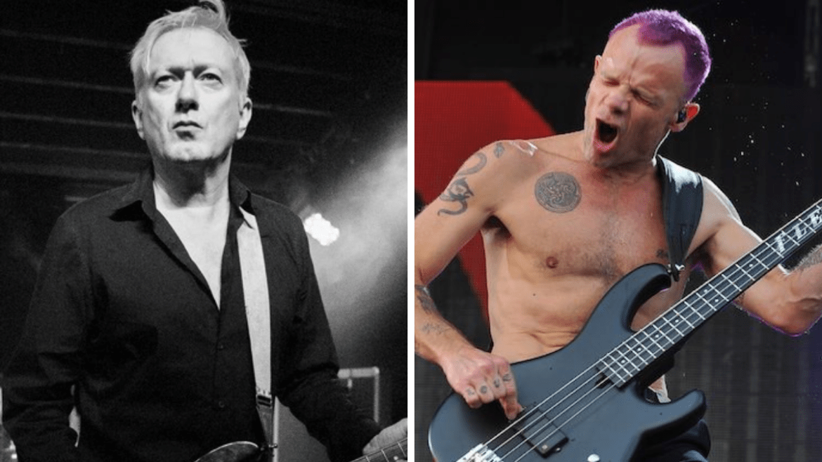 Andy Gill, do Gang Of Four, e Flea, do Red Hot Chilli Peppers