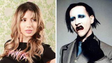 Bianca Allaine e Marilyn Manson