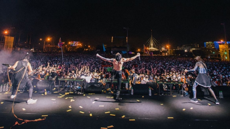 Chthonic no Megaport Festival 2021