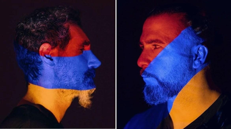 Serj Tankian e John Dolmayan, do System of a Down