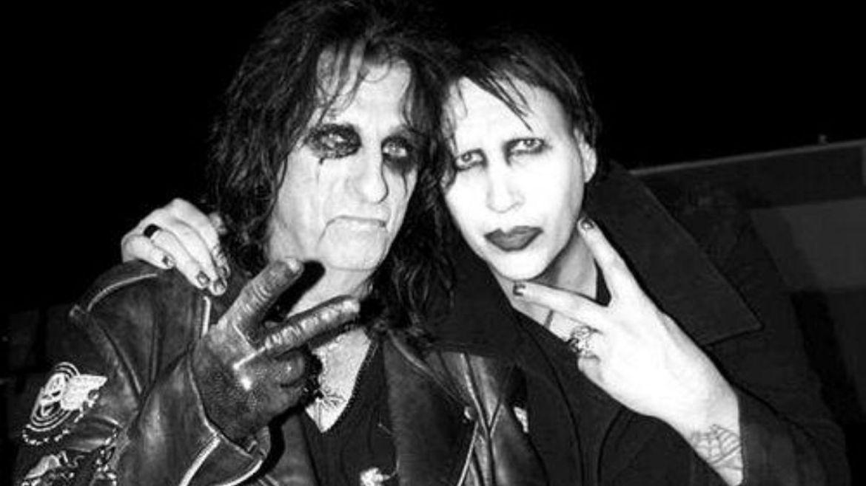Alice Cooper e Marilyn Manson