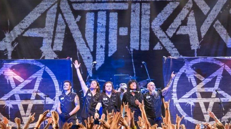 Anthrax em show