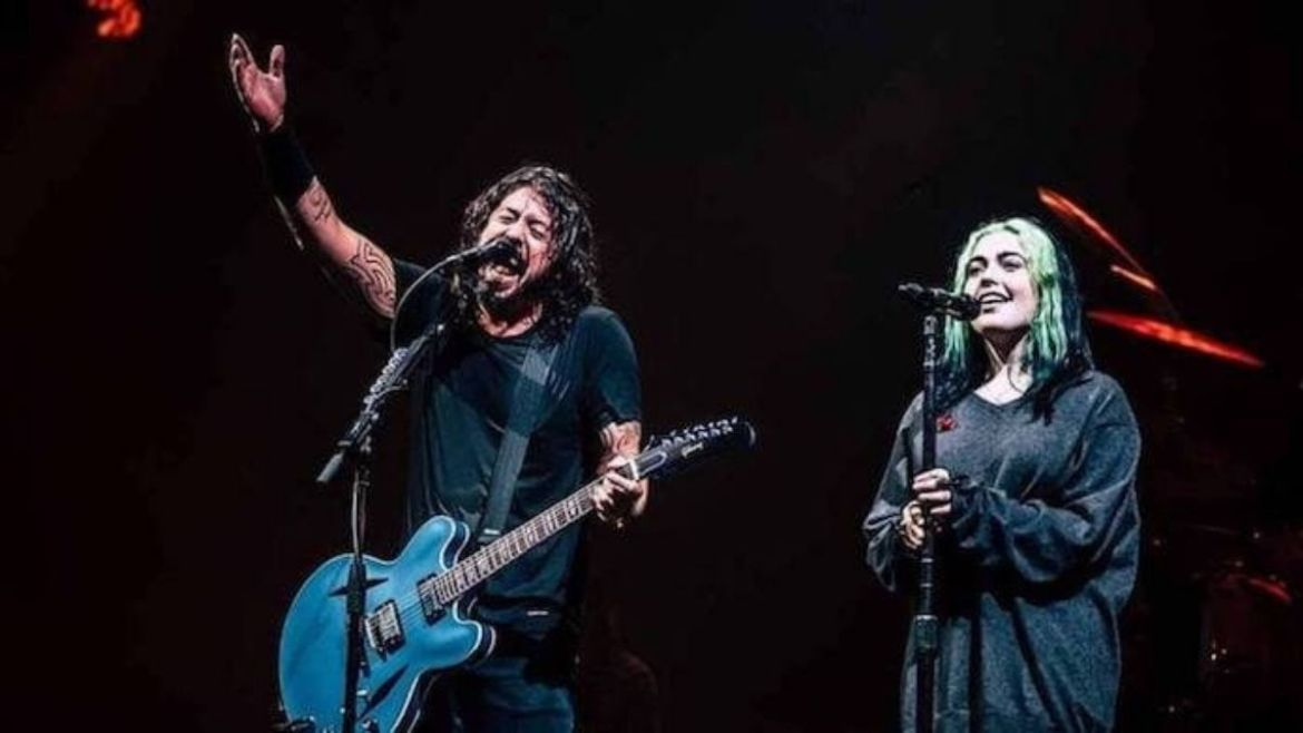 Dave e Violet Grohl
