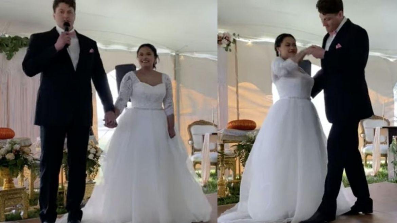 Recém-casados escolhem Napalm Death para primeira dança