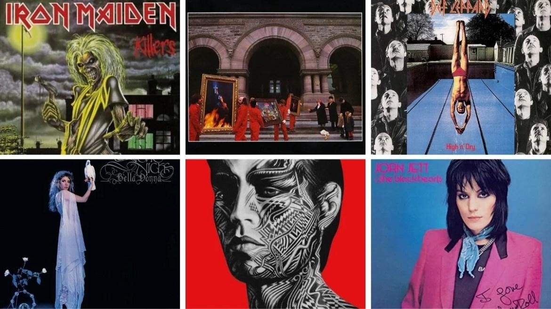 Enquete: Qual é o melhor álbum de 1981 que completa 40 anos agora?