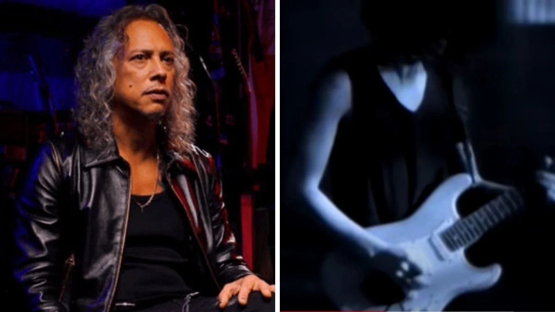 Kirk Hammett e a guitarra em leilão