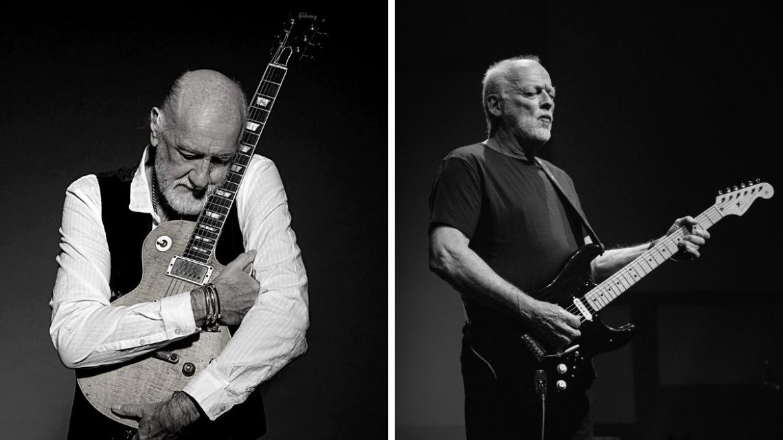 Mick Fleetwood e David Gilmour
