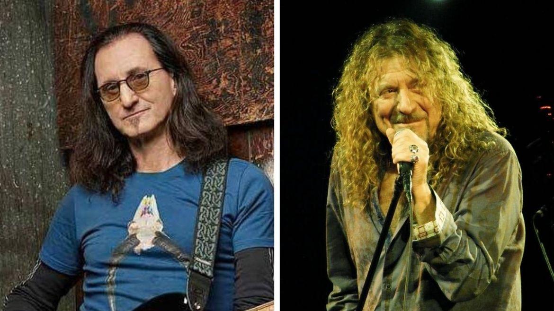 Geddy Lee e Robert Plant