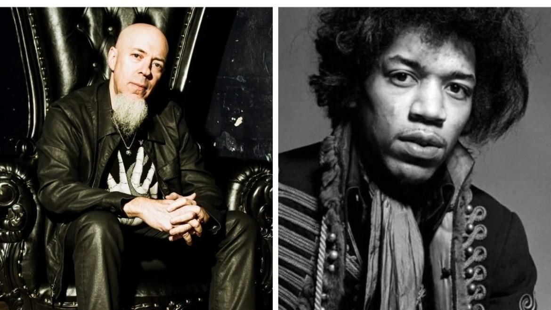 Jordan Rudess e Jimi Hendrix