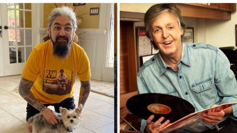 Mike Portnoy e Paul McCartney