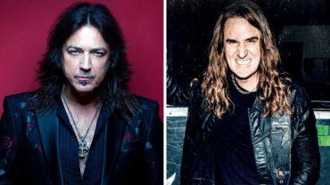 Michael Sweet, do Stryper, e David Ellefson, do Megadeth