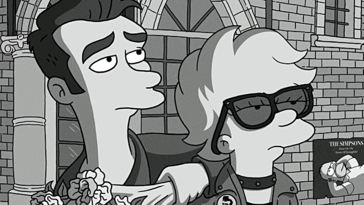 Quilloughby (Morrissey) e Lisa Simpson