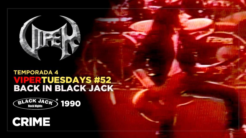 Crime - Back in Black Jack 1990 - VIPER Tuesdays