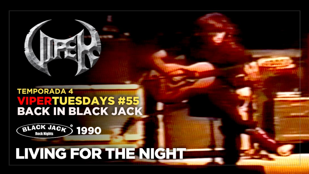 Living For The Night - Back in Black Jack 1990 - VIPER Tuesdays