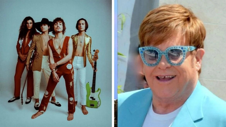 Greta Van Fleet e Elton John