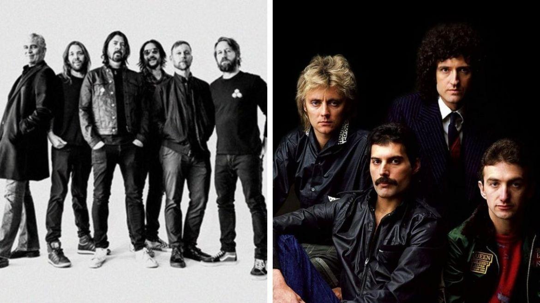 Foo Fighters e Queen