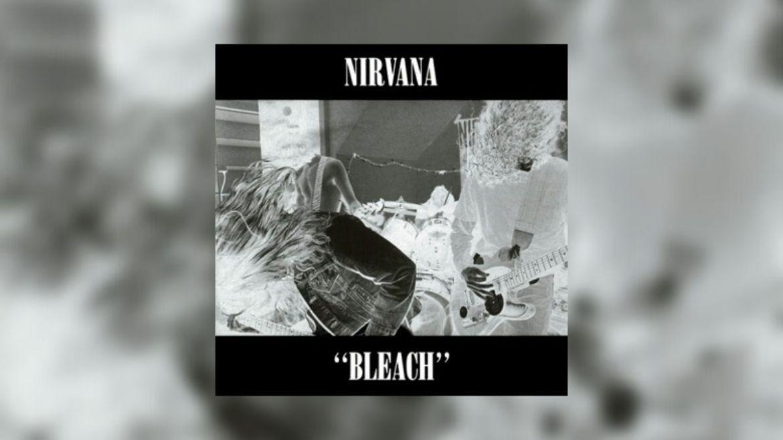 Capa do disco 'Bleach', do Nirvana