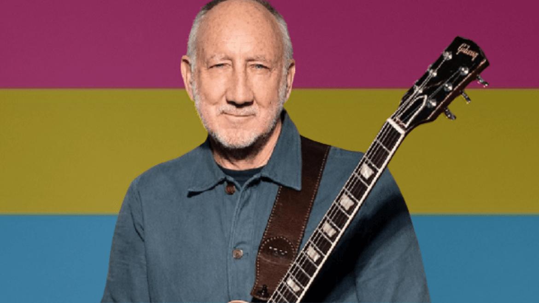 Pete Townshend e a bandeira pansexual