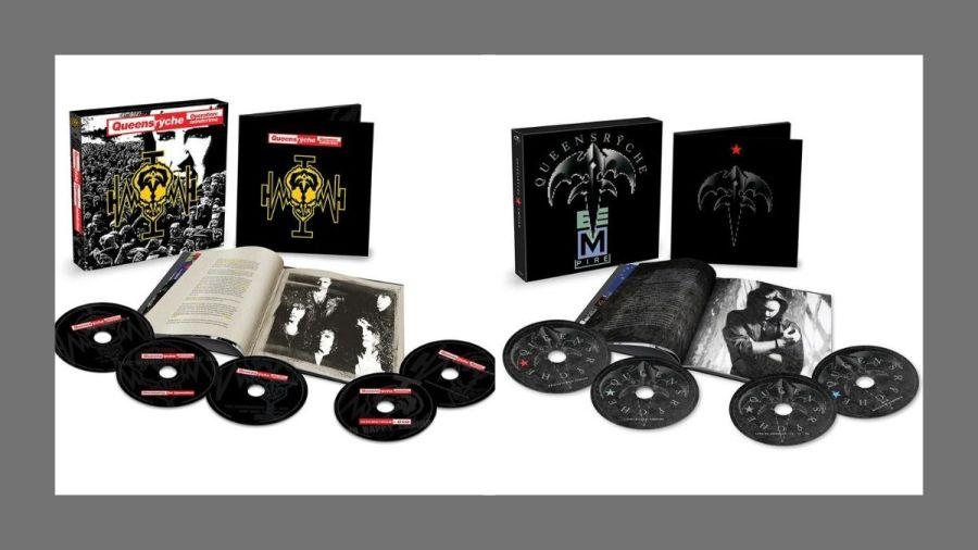 Box dos álbuns 'Operation: Mindcrime' e 'Empire', do Queensrÿche