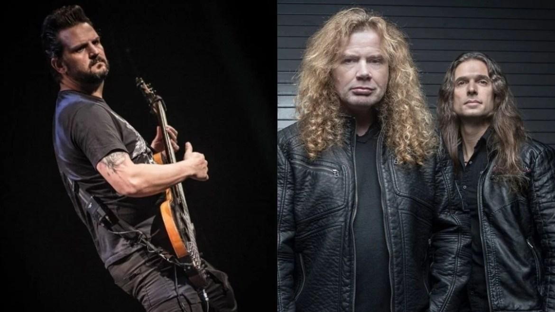 Felipe Andreoli e Megadeth