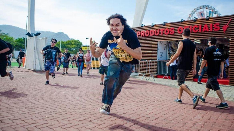 Fã de Iron Maiden no Rock In Rio 2013