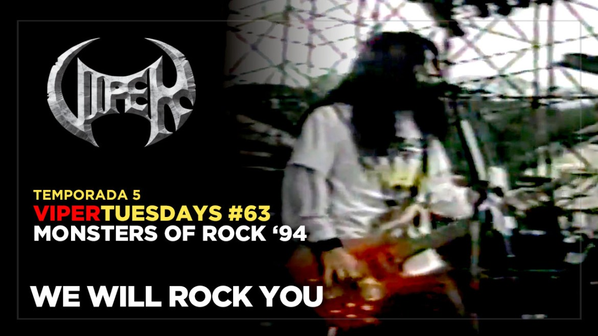 We Will Rock You - Monsters of Rock 94 - VIPER Tuesdays