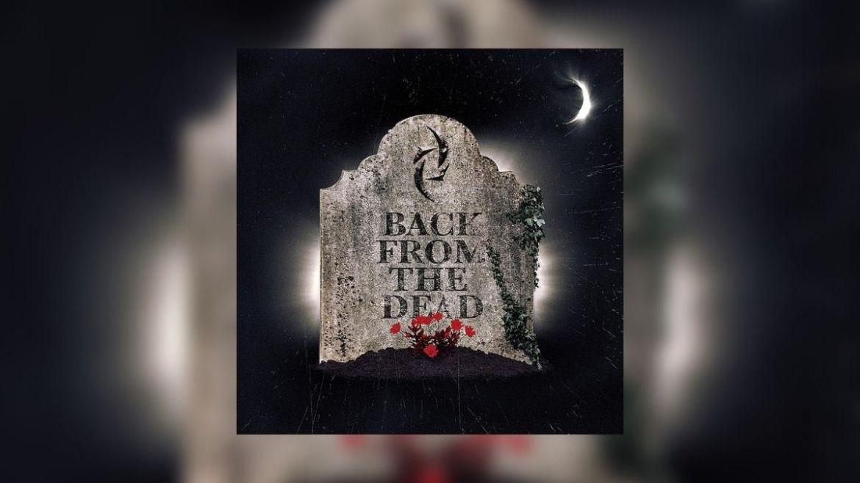 "Capa do single ""Back From The Dead"", do Halestorm"