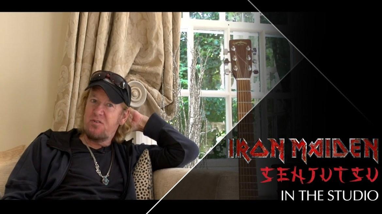 Iron Maiden Senjutsu com Adrian Smith