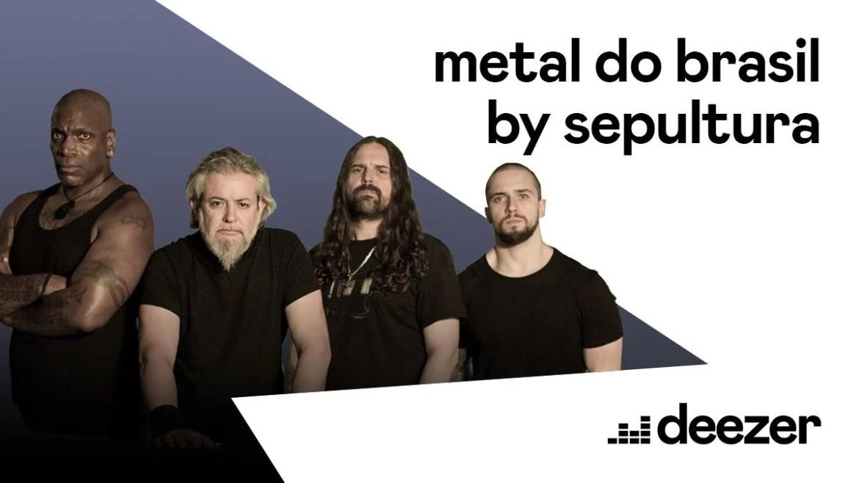 Sepultura em parceria com a Deezer