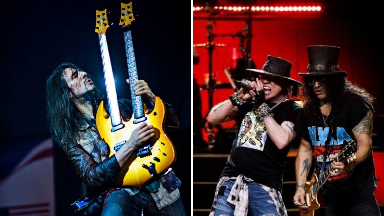 Bumblefoot Thal e Guns N' Roses