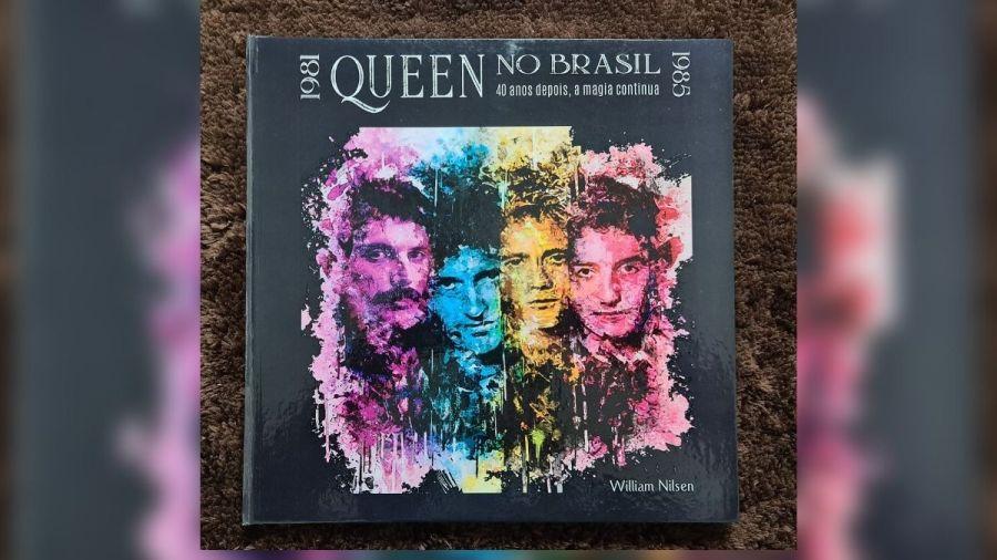 Livro 'Queen no Brasil, 40 anos depois, a magia continua'