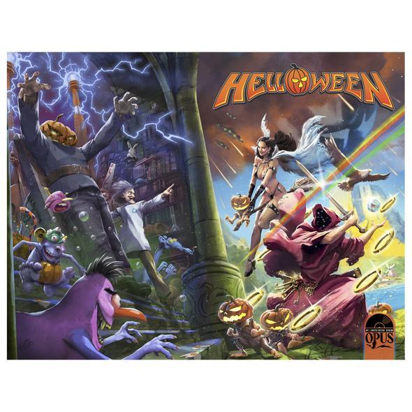Capa da HQ 'Helloween: Seekers of the Seven Keys'