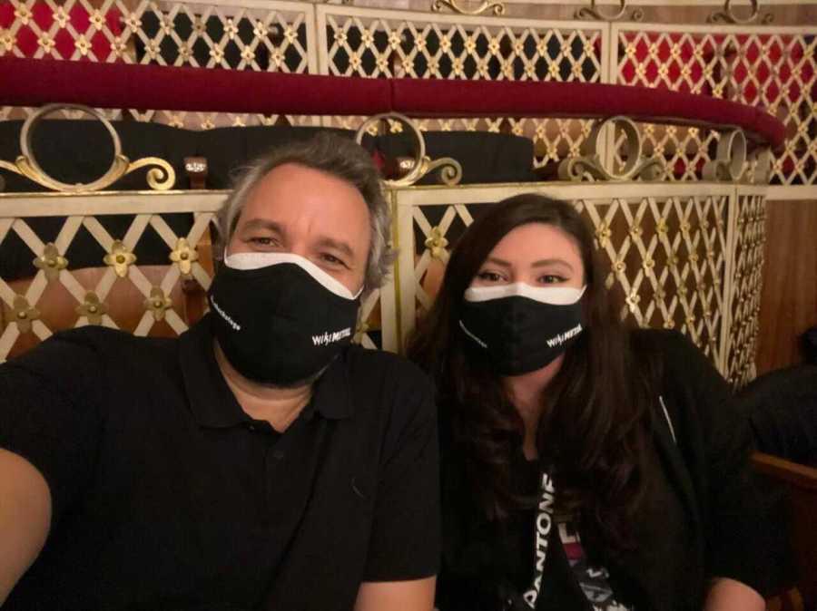 Nando Machado e Nina Shimazumi, do Wikimetal