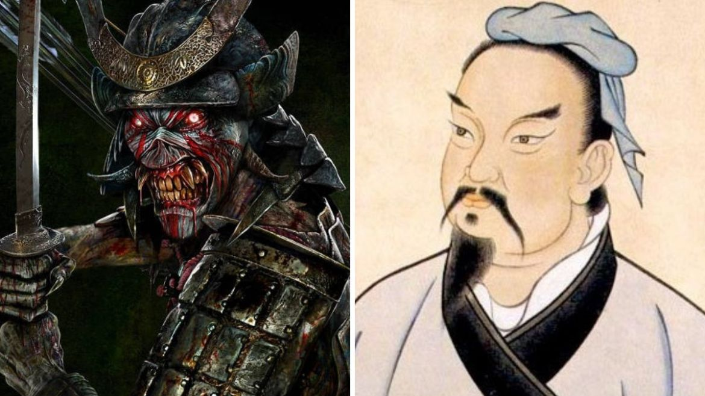 Eddie no álbum 'Senjutsu', do Iron Maiden, e Sun Tzu