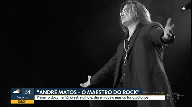 Documentário 'Andre Matos - Maestro do Rock' é destaque no 'Bom Dia SP'